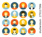 people of different generations ... | Shutterstock .eps vector #273117086
