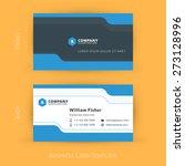 vector modern creative and... | Shutterstock .eps vector #273128996