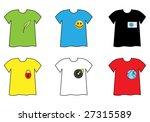t shirt set | Shutterstock . vector #27315589