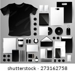 abstract  business set.... | Shutterstock .eps vector #273162758