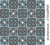 ornamental pattern tartan... | Shutterstock .eps vector #273168905
