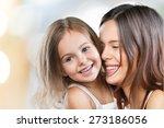 mum  teeth  hugging. | Shutterstock . vector #273186056