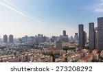 modern nanjing city skyline... | Shutterstock . vector #273208292