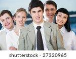 portrait of confident co... | Shutterstock . vector #27320965
