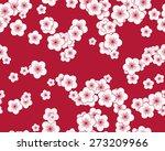 seamless oriental pattern of... | Shutterstock .eps vector #273209966
