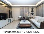 luxury interior living room | Shutterstock . vector #273217322