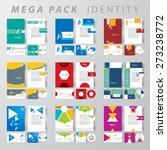 mega pack corporate identity... | Shutterstock .eps vector #273238772