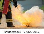firefighters training exercise   Shutterstock . vector #273239012