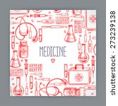 Cute Greeting Card With Medica...