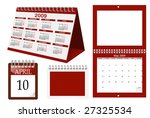 A Set Of Calender Templates