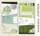 ecology one page website...