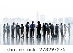 business people communication... | Shutterstock . vector #273297275