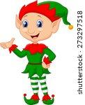 cute dwarf cartoon | Shutterstock .eps vector #273297518