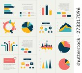 big set of flat infographics...