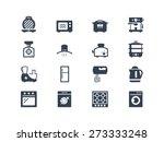 kitchen electric appliances... | Shutterstock .eps vector #273333248