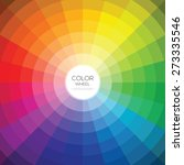 color wheel. vector... | Shutterstock .eps vector #273335546