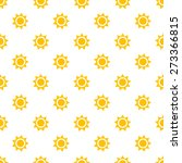Summer Sun Seamless Pattern