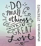 quote typographical background  ... | Shutterstock .eps vector #273379472
