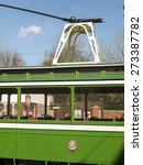 a vintage tram at the national... | Shutterstock . vector #273387782