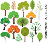 trees | Shutterstock .eps vector #273413522