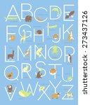 Illustrated Animal Alphabet Ab...