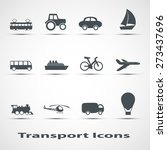 set of icons of transport   Shutterstock . vector #273437696