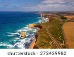 great ocean road and 12... | Shutterstock . vector #273439982