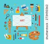 flat design vector illustration ... | Shutterstock .eps vector #273450362