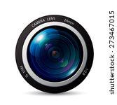 camera lens vector icon | Shutterstock .eps vector #273467015