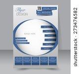 template for brochure or flyer. ... | Shutterstock .eps vector #273476582