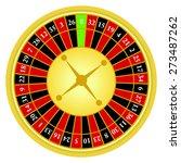 vector illustration of roulette ... | Shutterstock .eps vector #273487262