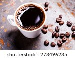 a cup of coffee | Shutterstock . vector #273496235