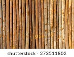 Eucalyptus Wood Fence...