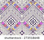 cool tribal geometric design  ... | Shutterstock .eps vector #273518648