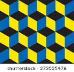 seamless geometric colorful... | Shutterstock .eps vector #273525476