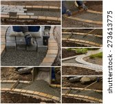 collage path construction | Shutterstock . vector #273613775