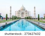 the taj mahal | Shutterstock . vector #273627632