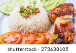 popular malaysian dish nasi... | Shutterstock . vector #273638105
