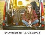 vacation  travel   woman travel ...   Shutterstock . vector #273638915