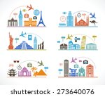 set infographic design with... | Shutterstock .eps vector #273640076