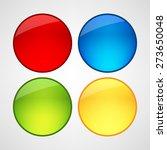 web buttons set | Shutterstock .eps vector #273650048