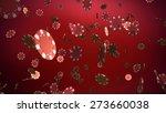 the 3d rendering of many casino ... | Shutterstock . vector #273660038