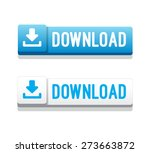download buttons | Shutterstock .eps vector #273663872
