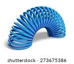 3d. flexibility  springs ... | Shutterstock . vector #273675386