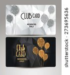 Gold Vip Cards With Air Balloo...