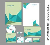 corporate identity business set ... | Shutterstock .eps vector #273704162
