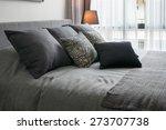 stylish bedroom interior design ...   Shutterstock . vector #273707738