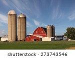 Rural Scene Showing A Modern...