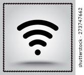 wireless sign icon  vector... | Shutterstock .eps vector #273747662