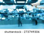 cctv security camera on monitor ... | Shutterstock . vector #273749306